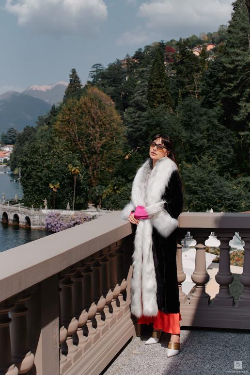 Fashion photoshoot on Lake Como for Zara Martin, Wedding and Fashion Photographer in Italy Hanna Baranava