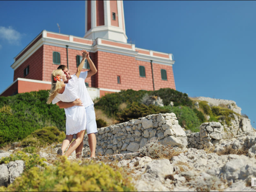 Couple photoshoot on Capri of Tatiana and Sergei, Wedding and Fashion Photographer in Italy Hanna Baranava