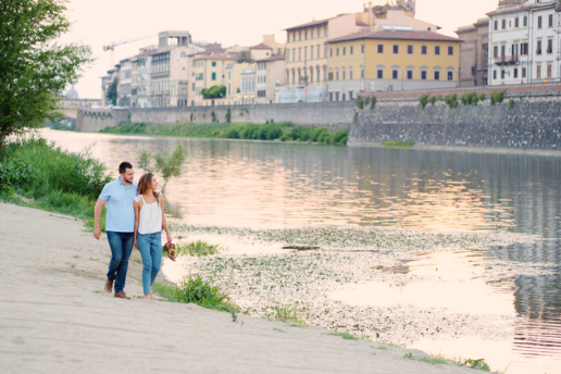 Couple photoshoot in Florence of Andrey and Olga, Wedding and Fashion Photographer in Italy Hanna Baranava