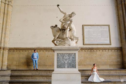 Foto di coppia a Firenze per Andrea e Olga, Fotografa di Matrimonio e di Moda a Milano Hanna Baranava