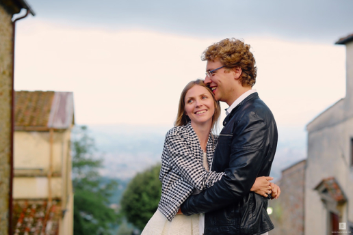 Couple photoshoot in Tuscany of Yana and Alex