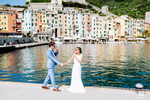 Couple photoshoot in Liguria of Dmitry and Irina, Wedding and Fashion Photographer in Italy Hanna Baranava