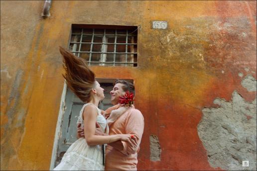 Фотосессия в Риме Романа и Алены, Свадебный и фэшн фотограф в Италии Анна Баранова