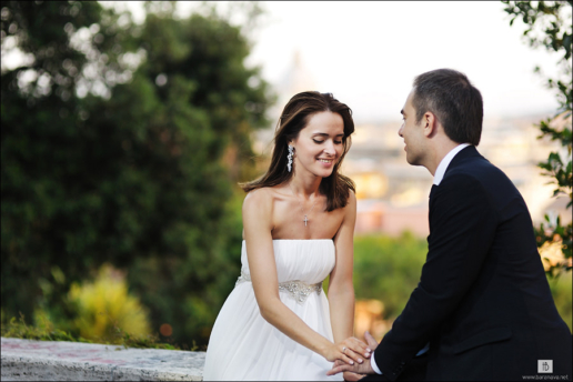 Couple photoshoot in Rome of Elena and Sergey, Wedding and Fashion Photographer in Italy Hanna Baranava