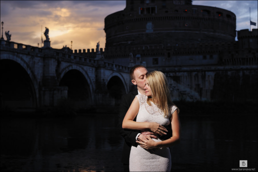 Couple photoshoot in Rome of Tatiana and Alex, Wedding and Fashion Photographer in Italy Hanna Baranava
