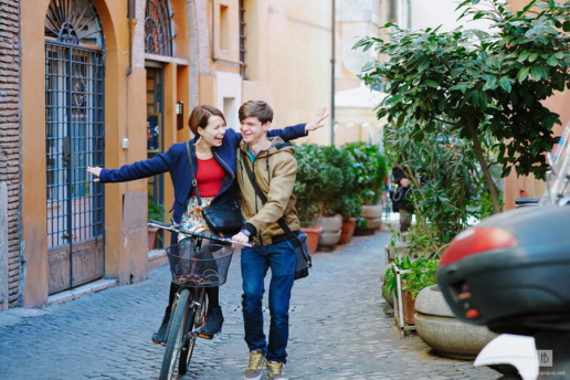 Couple photoshoot in Rome of Valeria and Alex, Wedding and Fashion Photographer in Italy Hanna Baranava