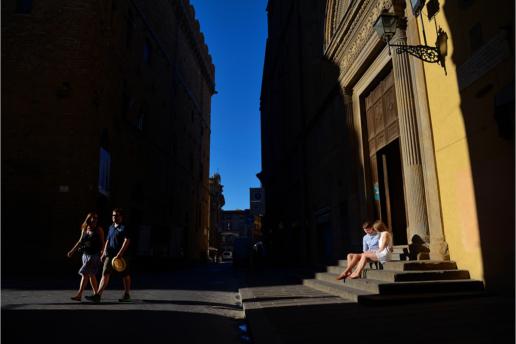 Фотосессия в Тоскане Алексея и Али, Свадебный и фэшн фотограф в Италии Анна Баранова