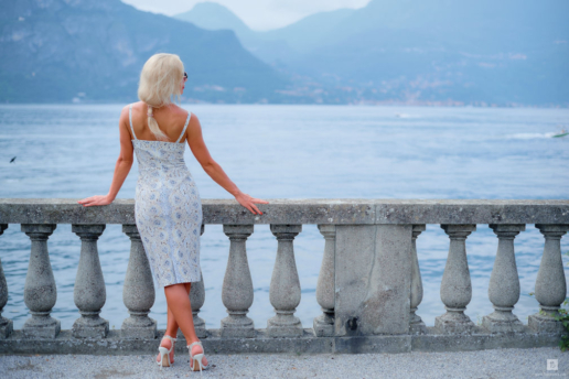 Girls portrait photoshoot on Lake Como, Wedding and Fashion Photographer in Italy Hanna Baranava