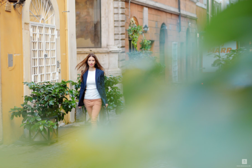 Portrait photoshoot in Rome for Marina, Wedding and Fashion Photographer in Italy Hanna Baranava