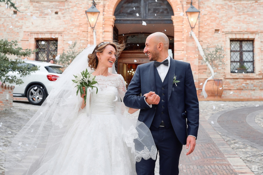 Destination wedding in Tuscany of Siobhan and Chris
