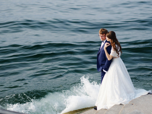 Elopement on Lake Como of Sergey and Veronika, Wedding and Fashion Photographer in Italy Hanna Baranava