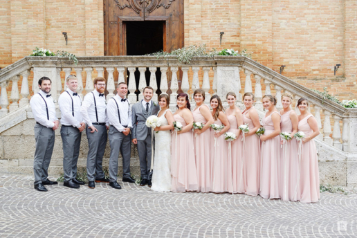 Destination wedding in Marche of Zac and Alex, Wedding and Fashion Photographer in Italy Hanna Baranava