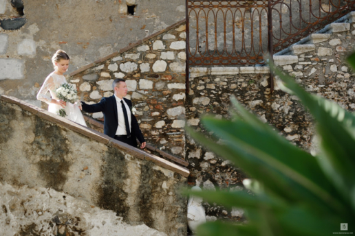 Elopement in Taormina, Sicily of Roma and Katya, Wedding and Fashion Photographer in Italy Hanna Baranava