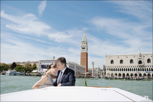 Elopement in Venice of Anna and Pavel, Wedding and Fashion Photographer in Italy Hanna Baranava